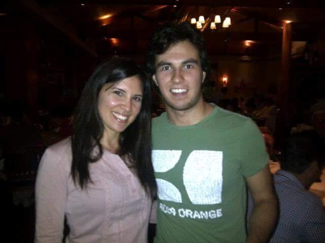 Yo con Perez